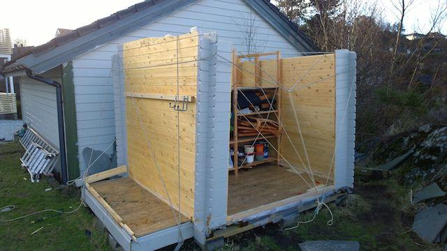 Bygge bod i hagen