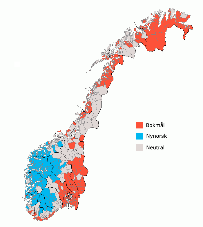 Image result for nynorsk område