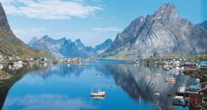 Noen som vil se meir av Norge?ein tog tur opp til nord