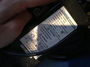 Trenger hjelp til å finne nytt strømadapter til skjermen
