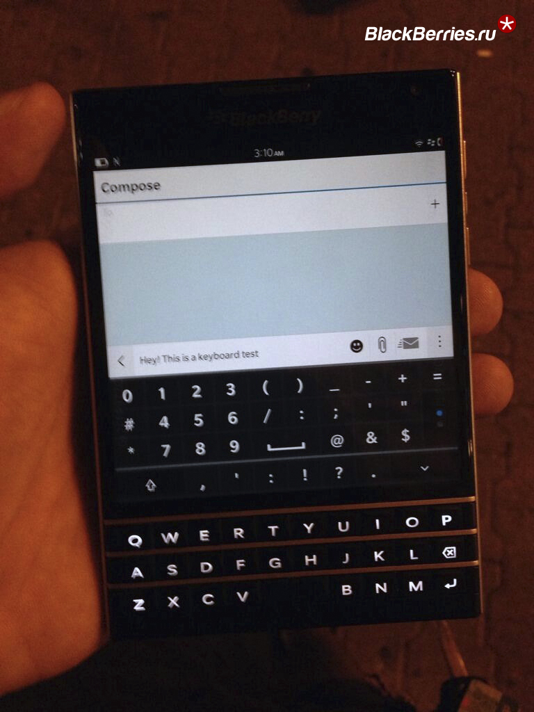 Den frekke Blackberry Passport tråden Mobiltelefoner