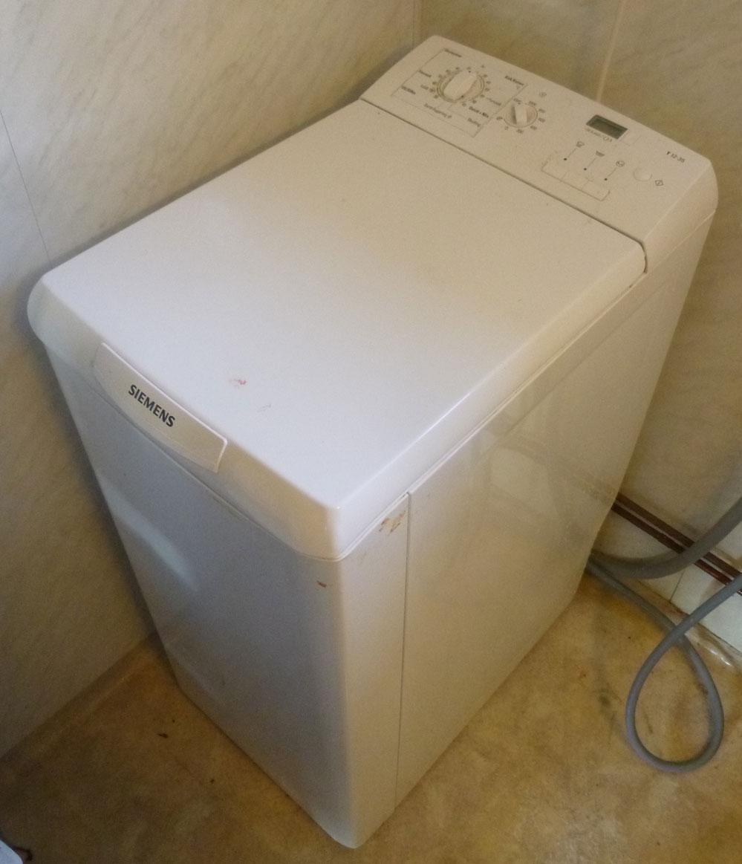 Vaskemaskin filter sitter fast