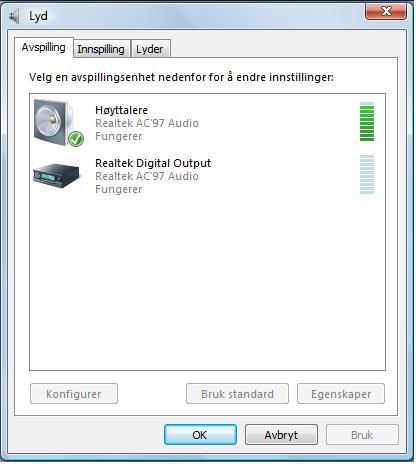 Konfigurere mikrofon Lydkort og PC høyttalere Diskusjon.no