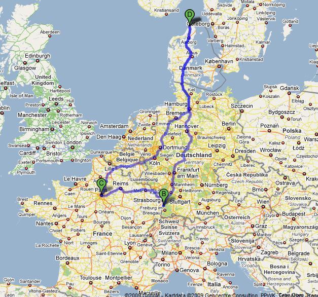 kart over rhindalen Innspill til Europa roadtrip sommeren 2010   Ferie og reise  kart over rhindalen