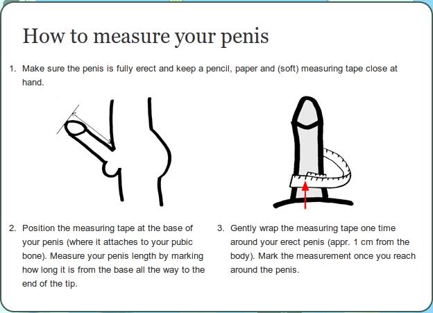 vondt i penis hvordan måle penis
