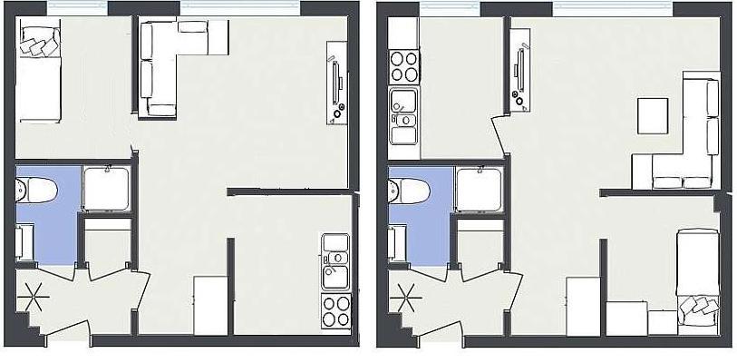 Flytte kjøkken til stue