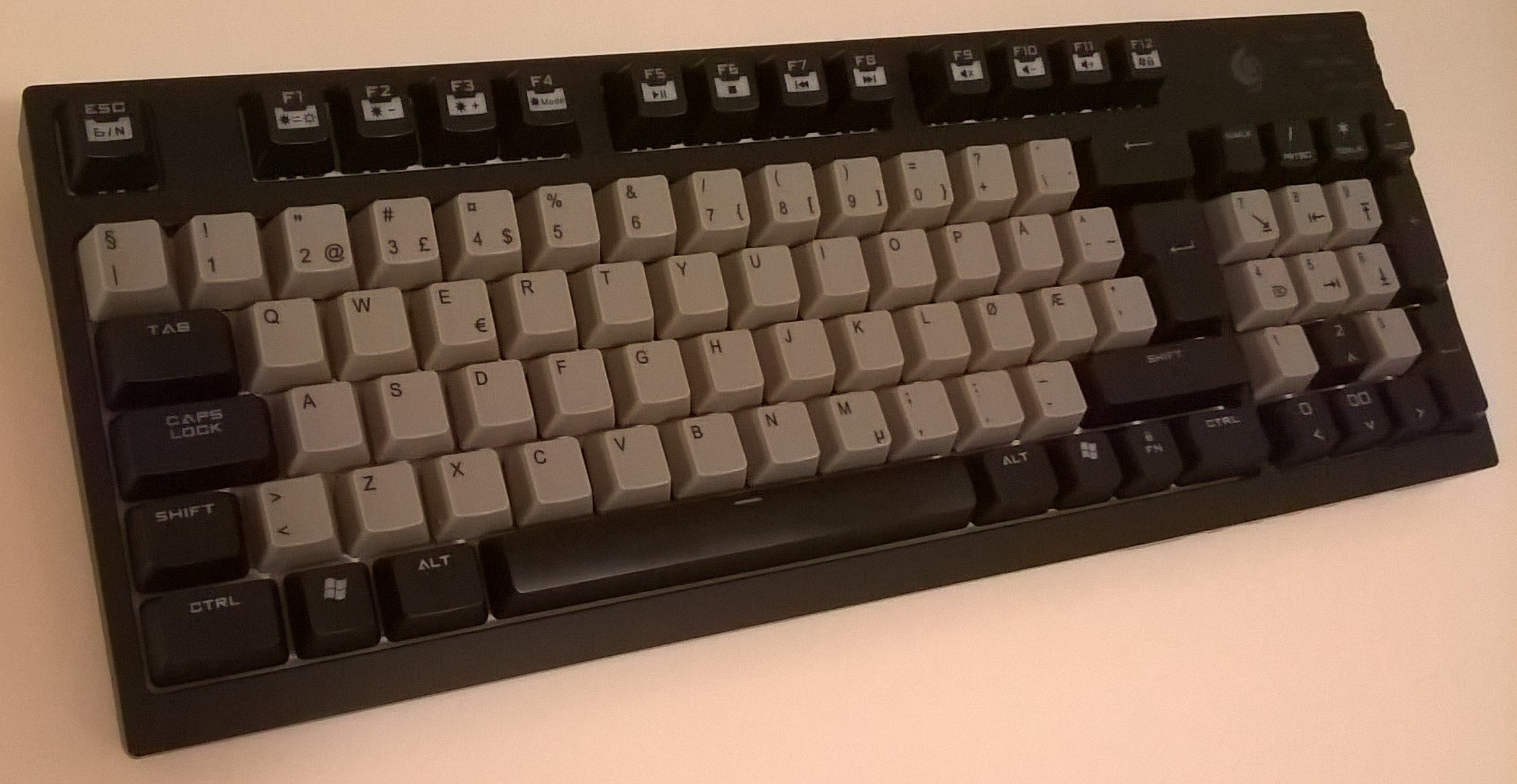 CM Storm QuickFire TK Keyboard Green Komplett.no