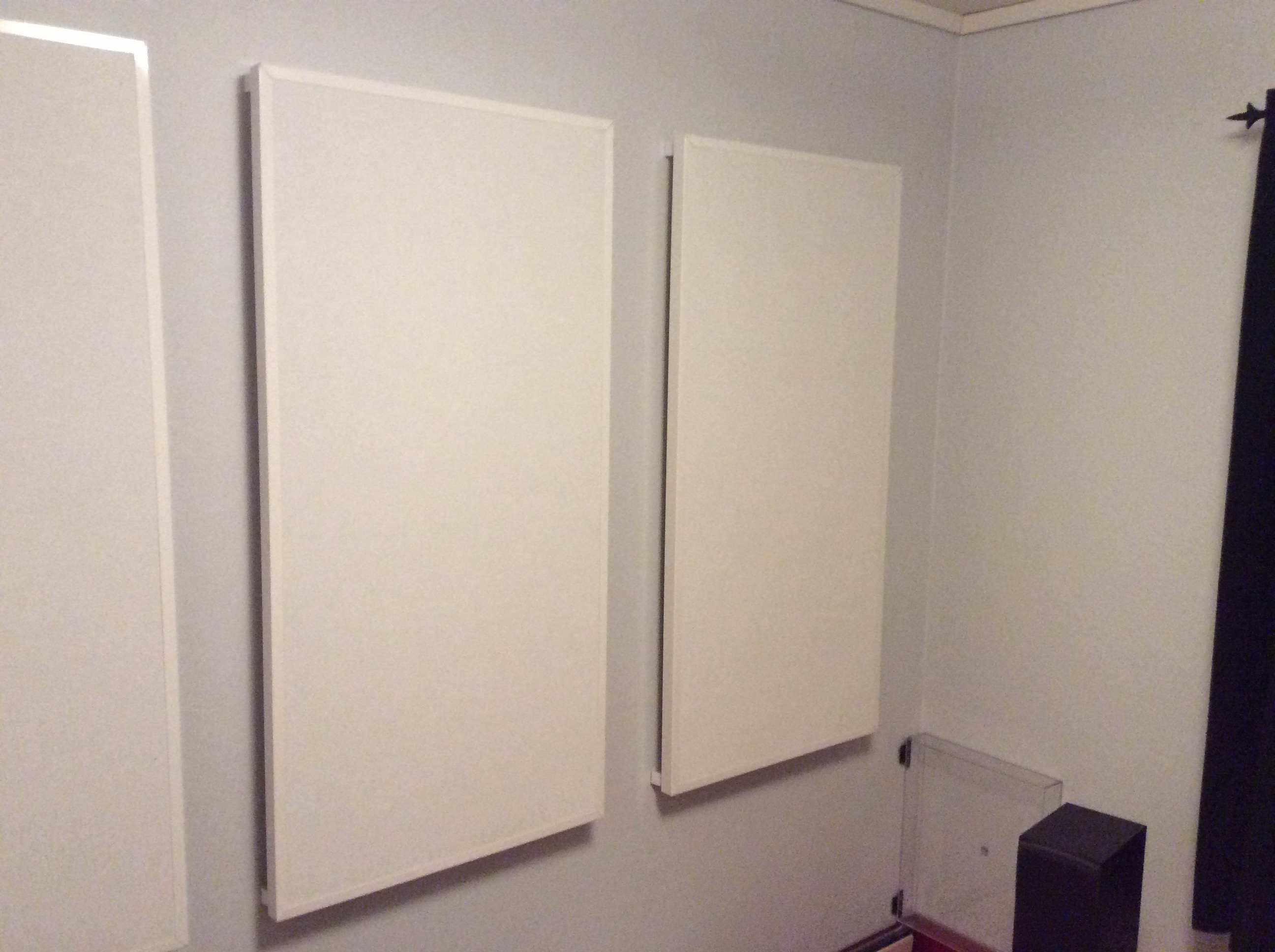 Støydempende veggplater