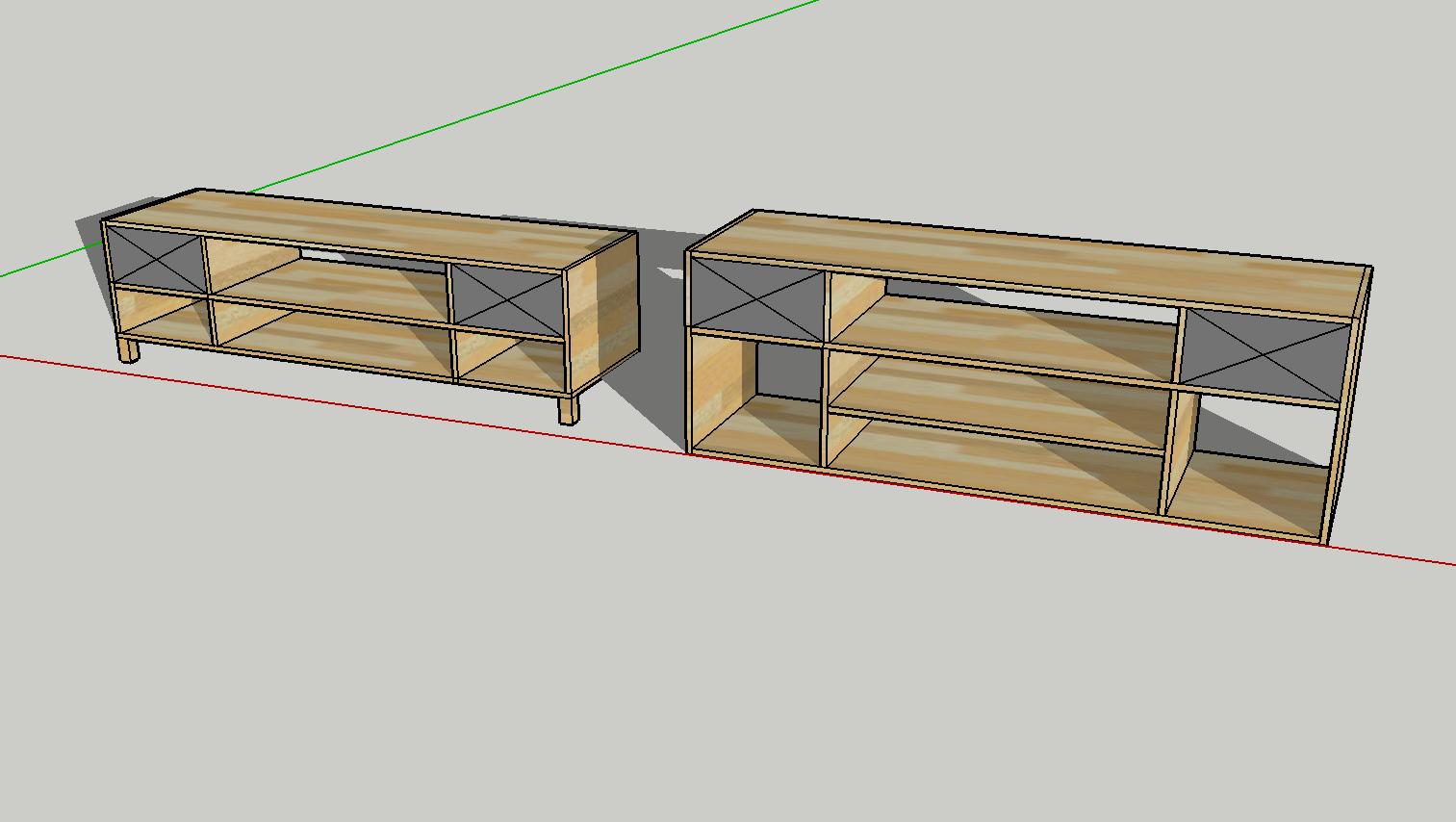 Bygge din egen tv benk