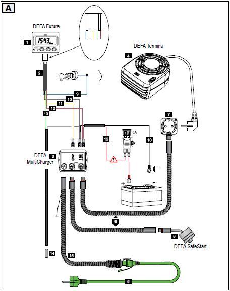 Defa motorvarmer bruksanvisning