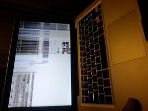 Knust skjerm asus zenpad 10