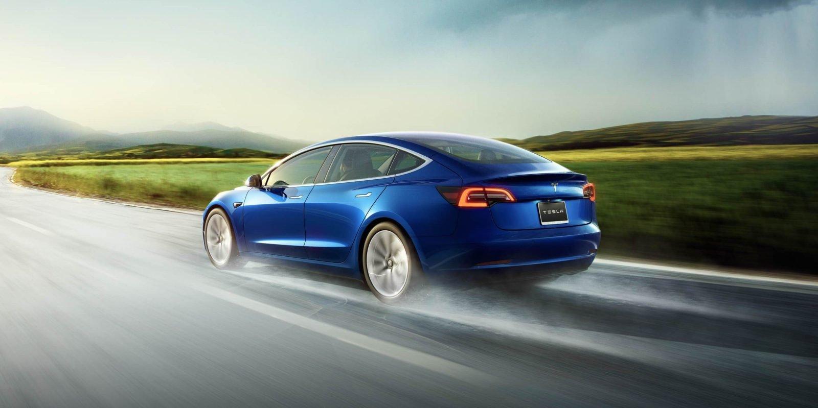 Tesla Model 3-kaféen